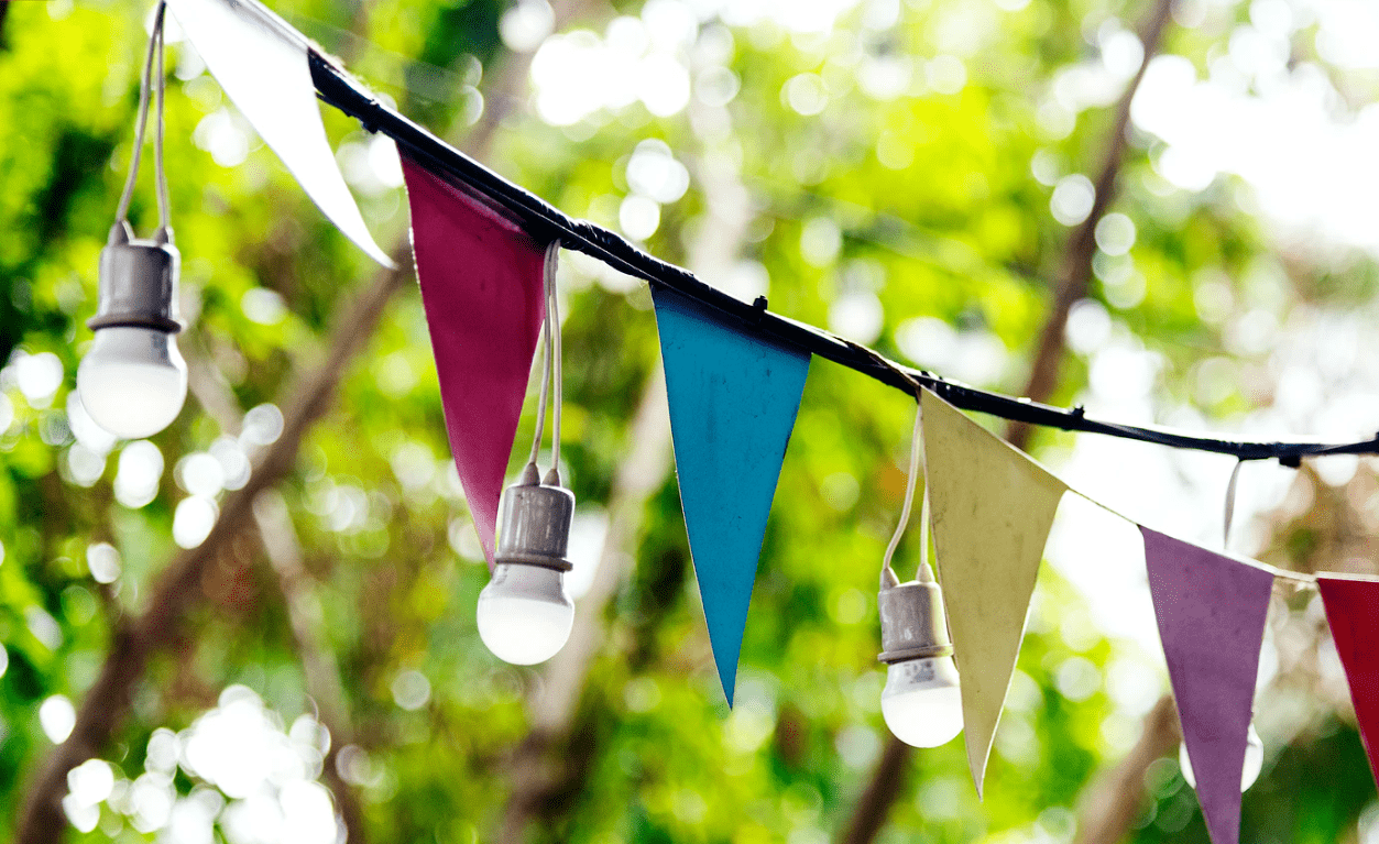 4 geweldige ideeën voor het organiseren van een straatfeest